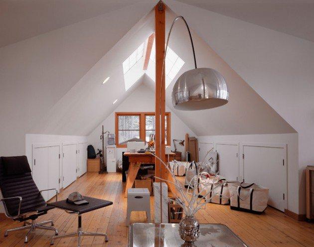 lighting ideas for attic - Tavan Arasındaki Salonunuz İçin 15 Kullanışlı Çözüm Ev